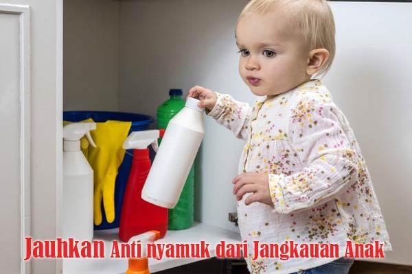 Bahaya Keracunan Anti nyamuk pada Anak