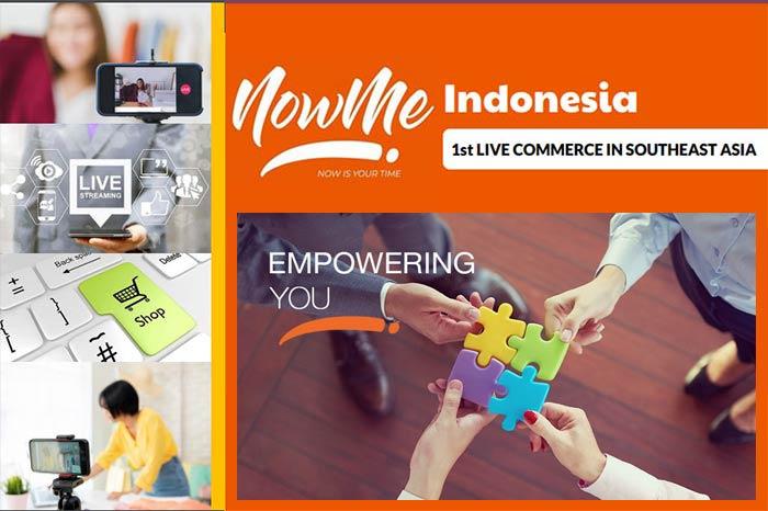 Belanja Online Makin Aman di NOWME Live Commerce