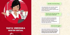 Asisten Virtual Telkomsel Veronika