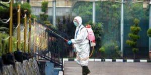 bahaya Desinfektan yang Disemprotkan